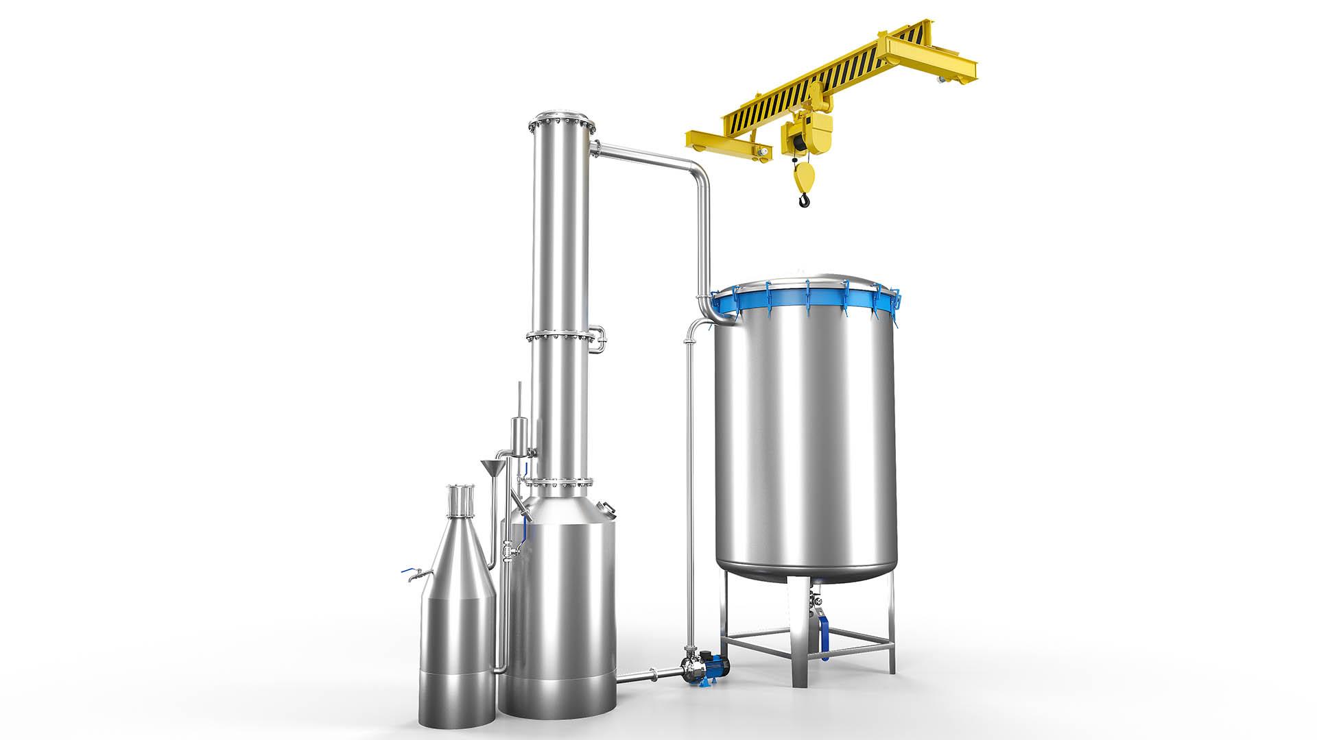 Aromatik Bitki Distilasyon Kazanı