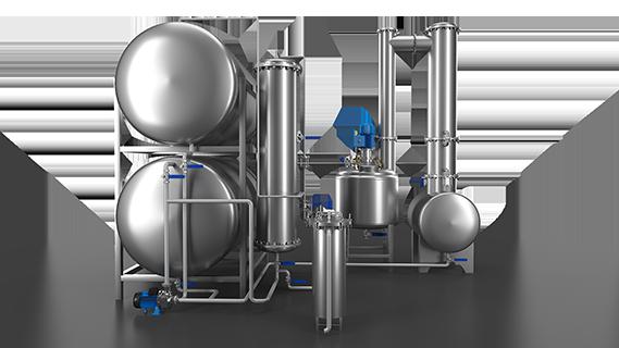 Sebatech Gül Yağı ve Aromatik Bitki Yağları Makineleri Adsorpsiyon