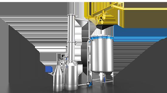 Sebatech Gül Yağı ve Aromatik Bitki Yağları Makineleri Aromatik Bitki Distilasyon