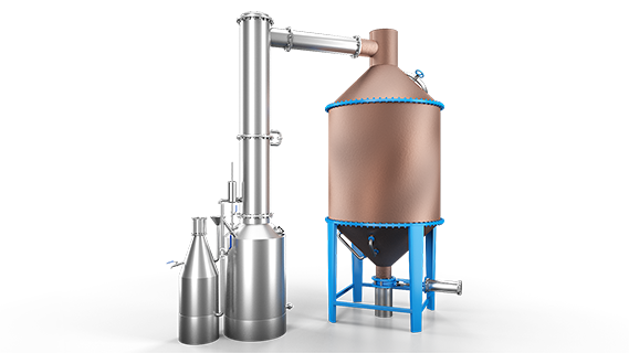 SebaTECH Gül Yağı ve Aromatik Bitki Yağları Makineleri Gül Çiçeği Distilasyon