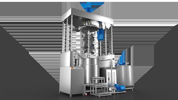 Sebatech Gül Yağı ve Aromatik Bitki Yağları Makineleri Homojenizatörlü Hidrolik Mikser