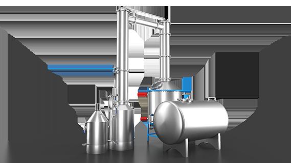 Sebatech Gül Yağı ve Aromatik Bitki Yağları Makineleri Kohobasyon