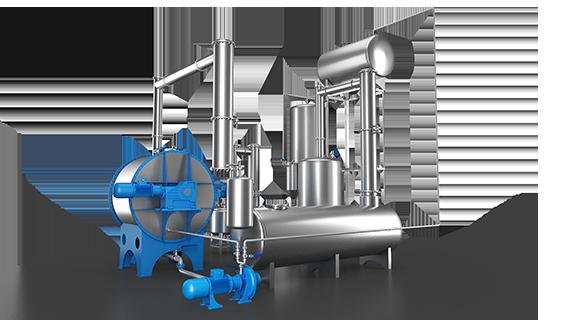 Sebatech Gül Yağı ve Aromatik Bitki Yağları Makineleri Rotary Ekstraksiyon