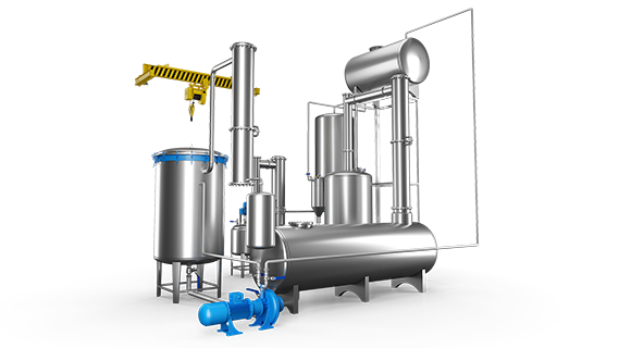 Sebatech Gül Yağı ve Aromatik Bitki Yağları Makineleri Statik Ekstraksiyon