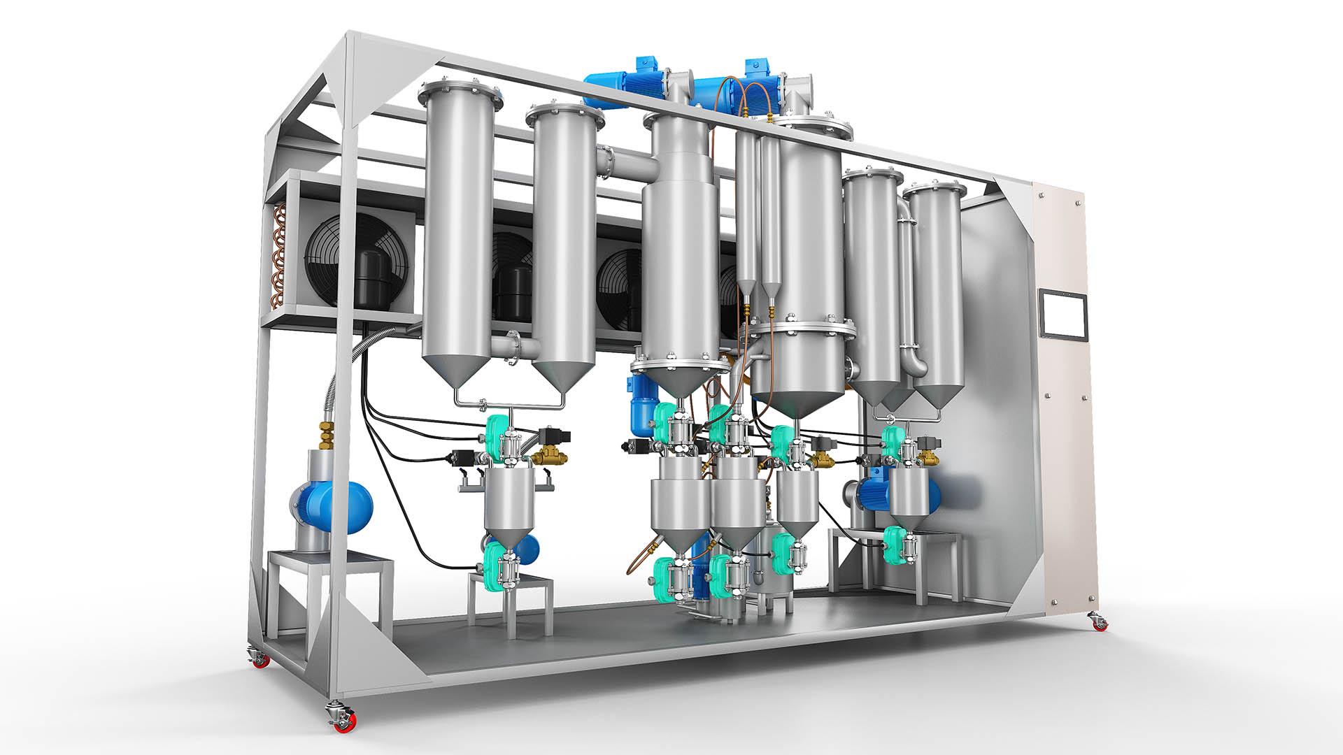 Moleküler Distilasyon Ünitesi
